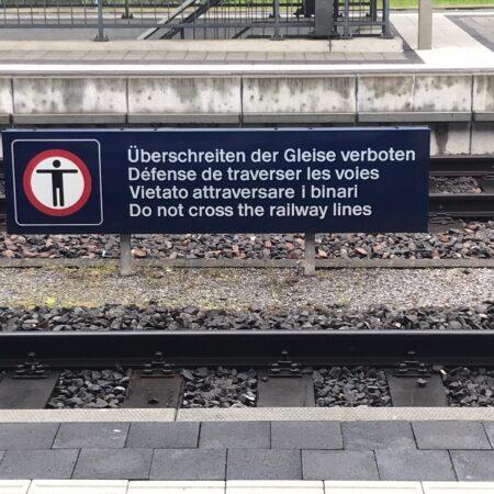 Linguistic Landscape Kreuzlingen 2021 De Fr It En sd