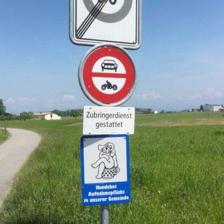 Linguistic Landscape Romanshorn 2021 De sd 3