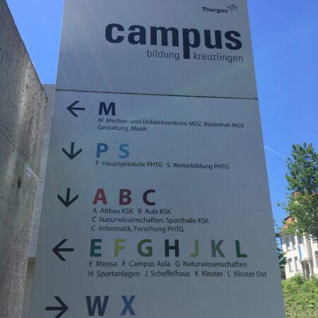 Linguistic Landscape Kreuzlingen 2021 De sd
