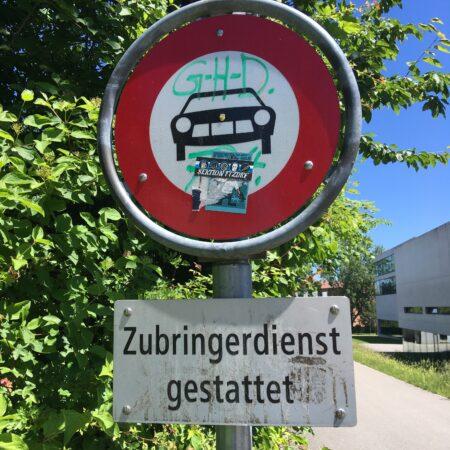 Linguistic Landscape Kreuzlingen 2021 De sd gr sti